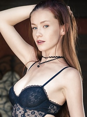 Emily Bloom models for TYM
