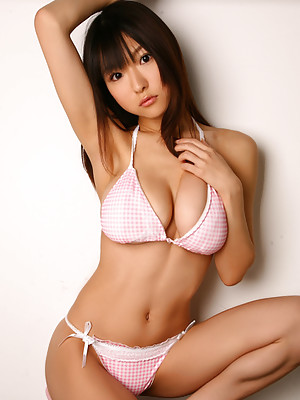 Mizuki Horii Asian with huge boobs is very playful and naughty