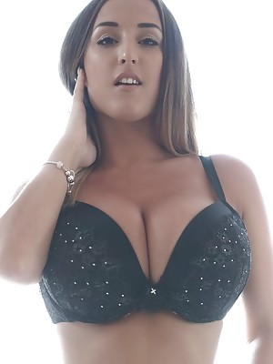 Beautiful Stacey Poole simply flaunting her flawless body and big boobs